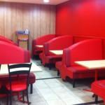 HL Restaurant benches