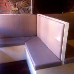 Restaurant benches
