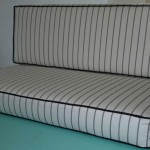 box cushions ticking