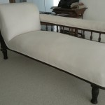 fabric chaise longue beige
