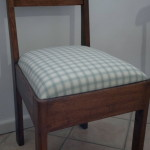 fabric dining chair duck-egg