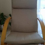 fabric lounge chair tan