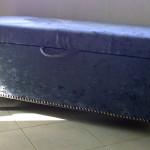 fabric ottoman charcoal
