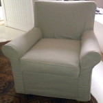 fabric slipcover beige