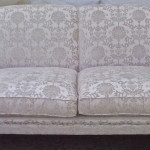 fabric sofa grey