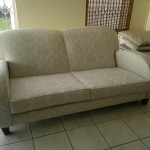 fabric sofa taupe