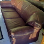 leather sofa oxblood