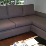 fabric corner lounge suite grey