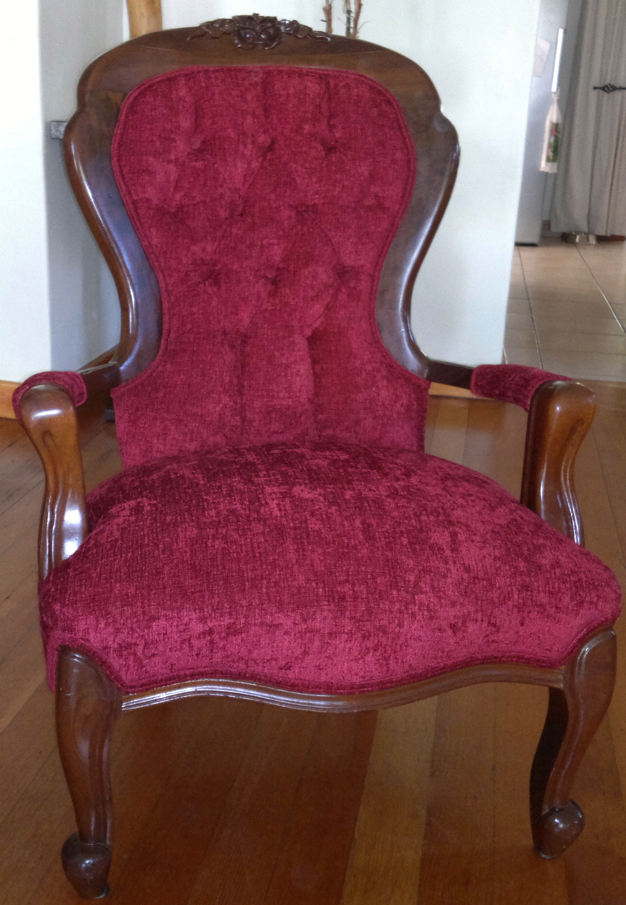 leather fabric chair fabric amp leather furniture upholstery specialists in cape town 16627 | fabric queen anne arm chair red