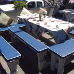Reupholstering Restaurant Seats