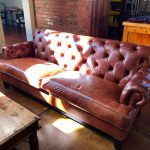 Custom Chesterfield Couch